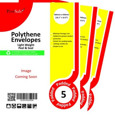 PostSafe LightWeight Peel & Seal Envelopes