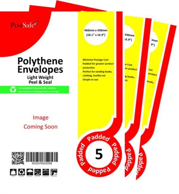 PostSafe LightWeight Peel & Seal Envelopes