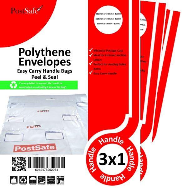 PostSafe handled plastic envelope