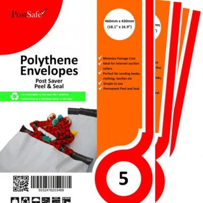 PostSafe Post Saver peel and seal plastic envelopes