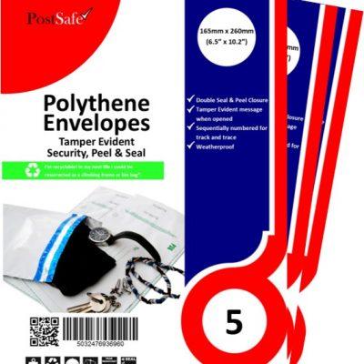 PostSafe Tamper evident plastic envelope
