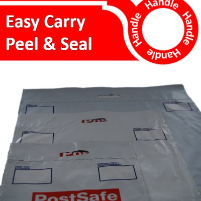 Handled Poly Mailers
