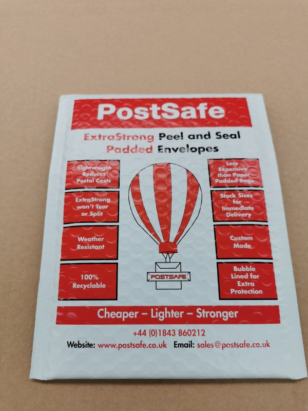 Balloon Print Padded Mailer Front