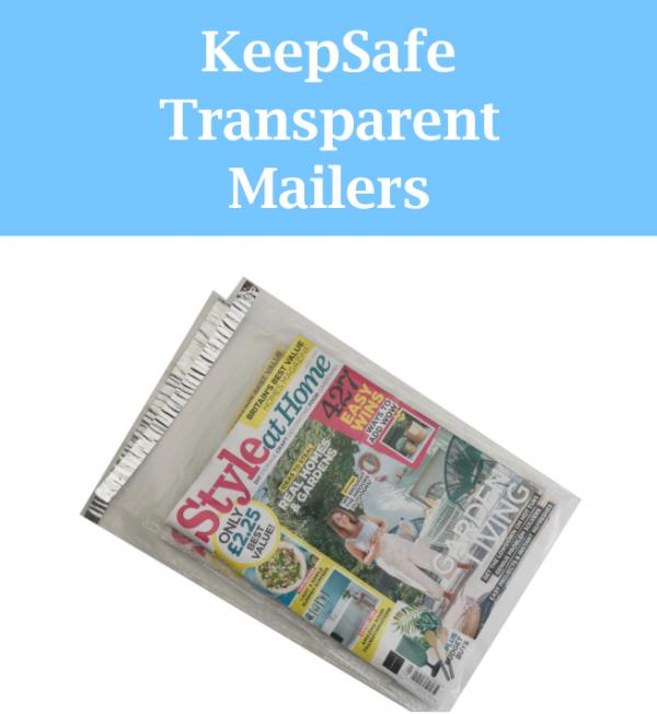 KeepSafe Transparent Mailer Range